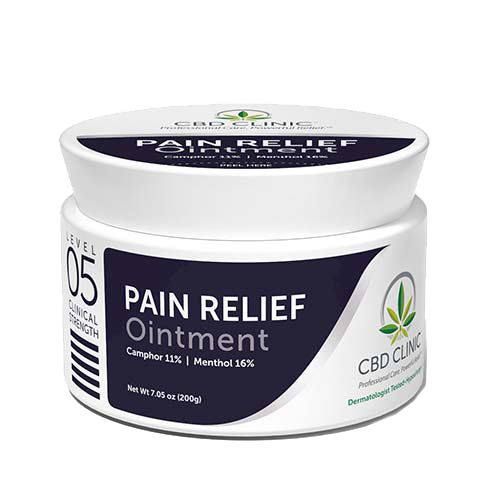 CBD Muscle Rub Ointment
